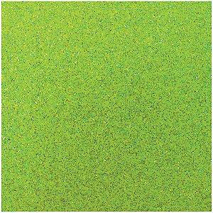 Placa Em Eva Com Gliter 60X40Cm Verde Neon 2Mm Make+