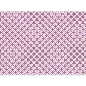 Placa Em Eva Estampado 60X40Cm Xadrez Rosa 2Mm Make+