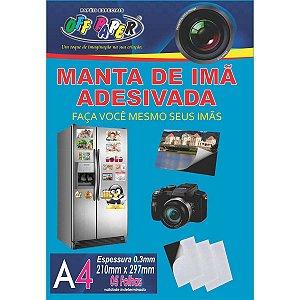 Placa Imantada A4 210X297Mm C/adesivo Off Paper
