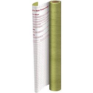 Plastico Adesivo 45Cmx 2M Madeira Bege Pvc 0,08 Dac