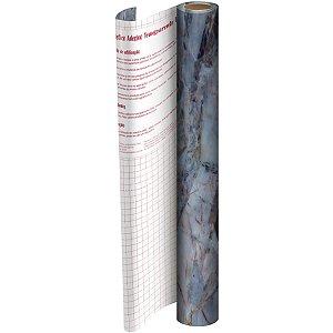 Plastico Adesivo 45Cmx 2M Pedra Pvc 0,08 Dac