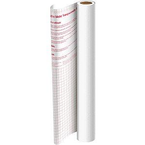 Plastico Adesivo 45Cmx 2M Pvc Branco 0,08 Dac