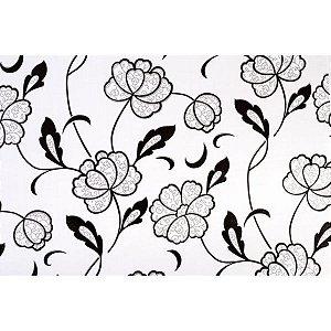 Plastico Adesivo 45Cmx10M Fantasia Floral 07 0,80 Leonora