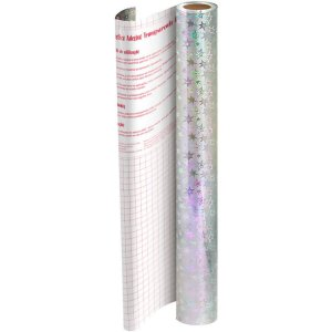 Plastico Adesivo 45Cmx10M Hol.estrela Pp 0,10 Dac
