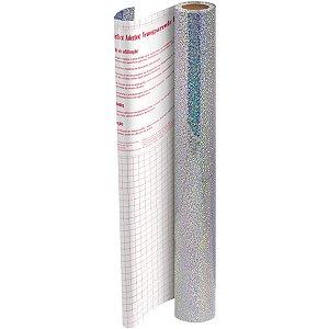 Plastico Adesivo 45Cmx10M Holografico Pp 0,10 Dac
