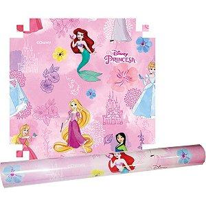 Plastico Adesivo 45Cmx10M Princesas Pvc V.m.p.