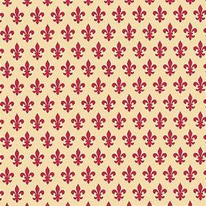 Plastico Adesivo 45Cmx15M Lis Vermelho Gekkofix
