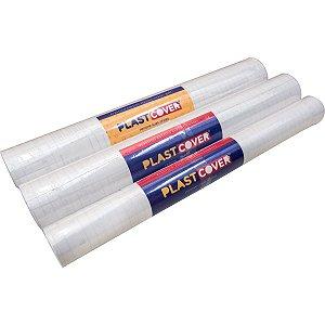 Plastico Adesivo Transparente 45Cm X 10M 0,60 Plastcover