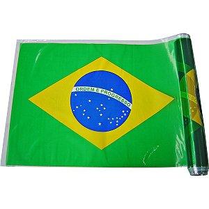 Plastico Para Encapar 25M 38Cm Bandeira Do Brasil Goldplas