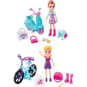 Polly Aventura Em Rodas Mattel