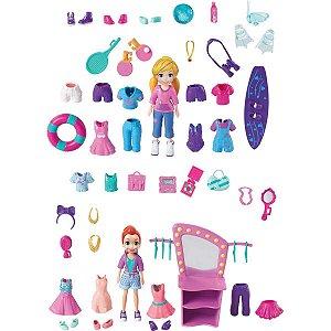 Polly Boneca E Acessorios Sortidos Mattel