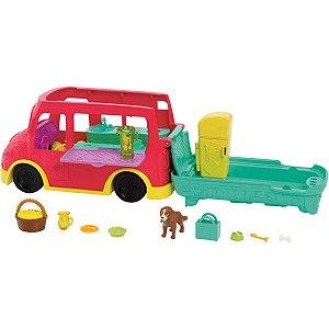 Polly Food Truck 2 Em 1 Mattel