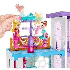 Polly Mega Casa Surpresa Mattel