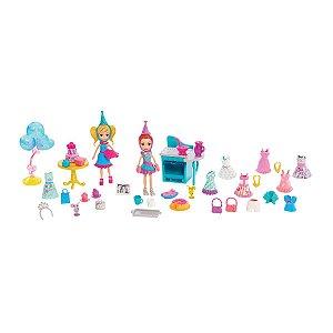 Polly Pacote De Festa Mattel