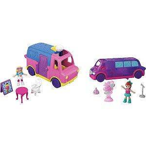 Polly Pollyville Micro Carro Mattel
