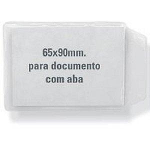 Porta Documento P/cnh C/aba Cristal 6,5X9Cm. Acp