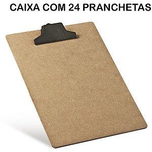 Prancheta Oficio Mdf C/prendedor Plast. Acrimet