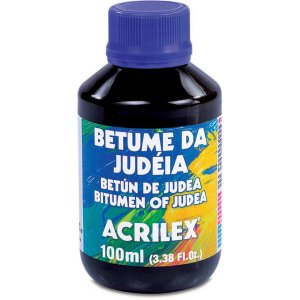 Produto Para Artesanato Betume Da Judeia 100Ml Acrilex