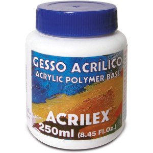 Produto Para Artesanato Gesso Acrilico 250Ml Acrilex