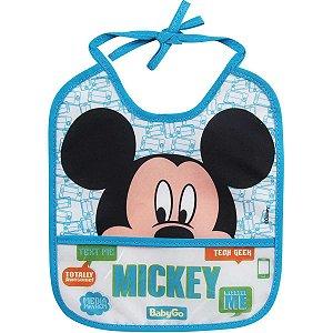 Produto Para Bebe Babador Mickey Babygo