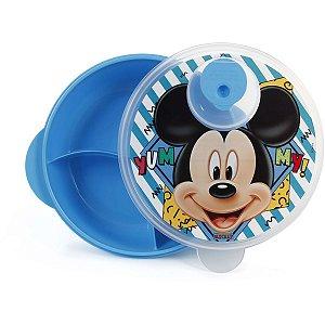 Produto Para Bebe Mickey B.pratoc/div+Tampa P/mi Babygo