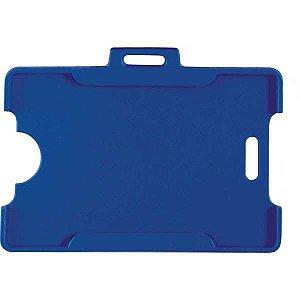Protetor Para Cracha Plastico Azul 54X86Mm Reflex