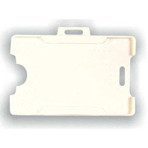 Protetor Para Cracha Plastico Branco 54X86Mm Reflex