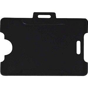 Protetor Para Cracha Plastico Preto 54X86Mm Reflex