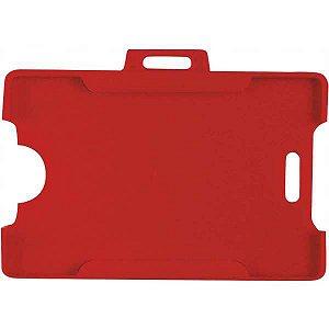 Protetor Para Cracha Plastico Vermelho 54X86Mm Reflex