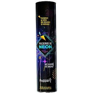 Pulseira Neon Alto Brilho Cores Sortida Popper