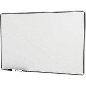 Quadro Branco Moldura Aluminio 090X060Cm Popular Stalo