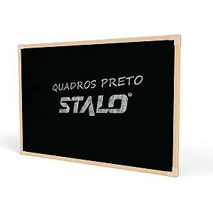 Quadro Escolar 060X040Cm Preto Neo Stalo