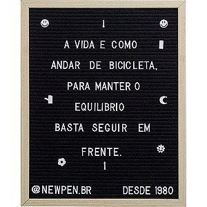 Quadro Multiuso 40X50Cm Letter Board C/290Cara Newpen