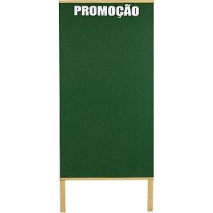 Quadro Propaganda Oferta Verde 2 Faces 100X060Cm Souza