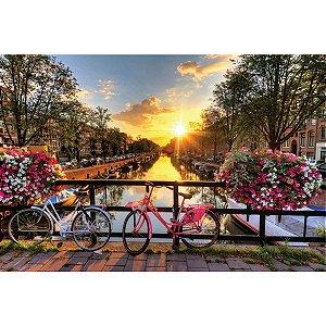 Quebra-Cabeca Cartonado Amsterdam Premium 500Pcs Pais E Filhos