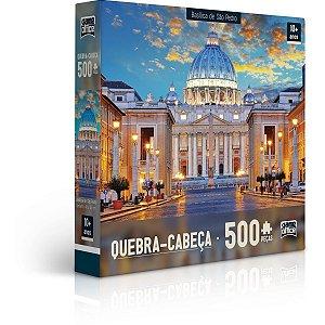 Quebra-Cabeca Cartonado Basilica E Catedral 500Pcs Sor Toyster