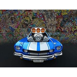 Quebra-Cabeca Cartonado Carro V8 100 Pecas Coluna