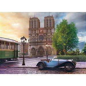 Quebra-Cabeca Cartonado Catedral Notre Dame 2000 Pecas Grow