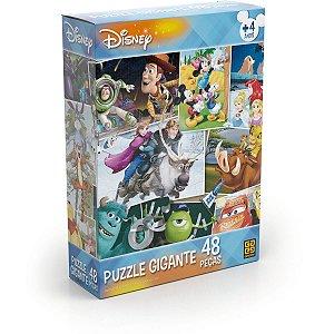 Quebra-Cabeca Cartonado Disney Gigante 48Pecas Grow