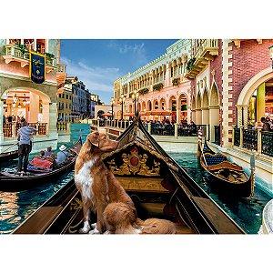 Quebra-Cabeca Cartonado Pet Na Gondola 1500 Pecas Grow