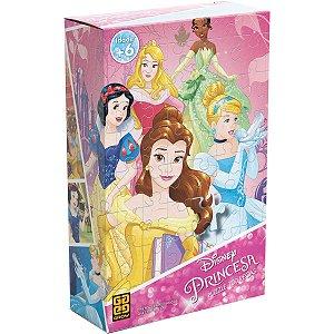 Quebra-Cabeca Cartonado Princesas 100 Pecas Grow