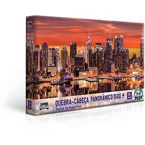 Quebra-Cabeca Cartonado Skyline Manhattan 1500Pcs Toyster