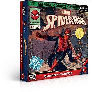 Quebra-Cabeca Cartonado Spider Man 500Pcs Toyster