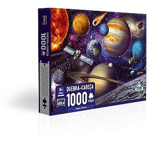 Quebra-Cabeca Cartonado Viagem Cosmica 1000Pcs Toyster