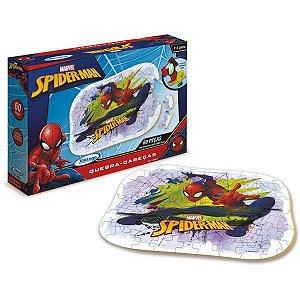 Quebra-Cabeca Madeira Spider-Man Ultimate 60 Pecas Xalingo