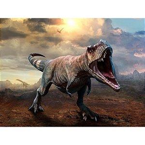 Quebra-Cabeca Madeira T Rex 20 Pecas Coluna