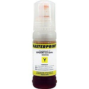 Refil De Tinta Epson Comp. 504/544 Amarelo 70Ml Masterprint