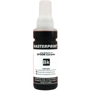 Refil De Tinta Epson Comp. 664 Preto 100Ml. Masterprint