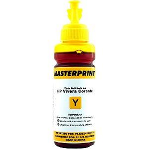 Refil De Tinta Hp Comp. Amarelo 100Ml Bulk Ink Vivera Masterprint