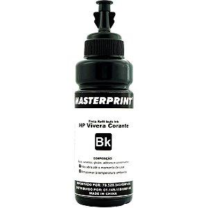 Refil De Tinta Hp Comp. Preto 100Ml Bulk Ink Vivera Masterprint
